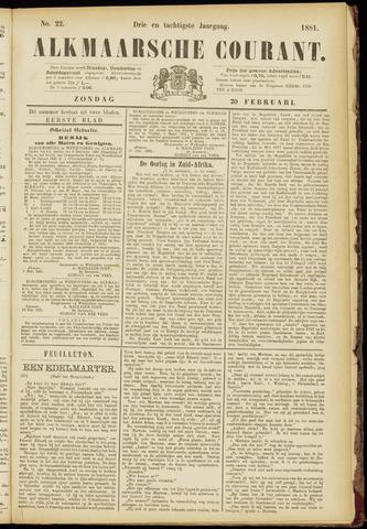 Alkmaarsche Courant 1881-02-20