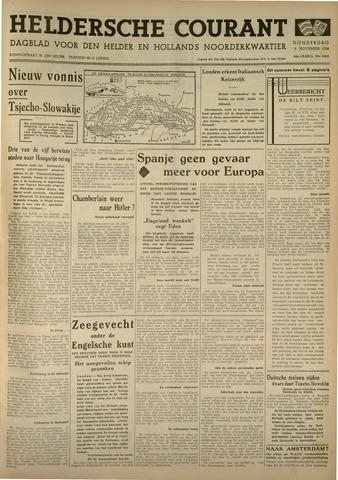 Heldersche Courant 1938-11-03