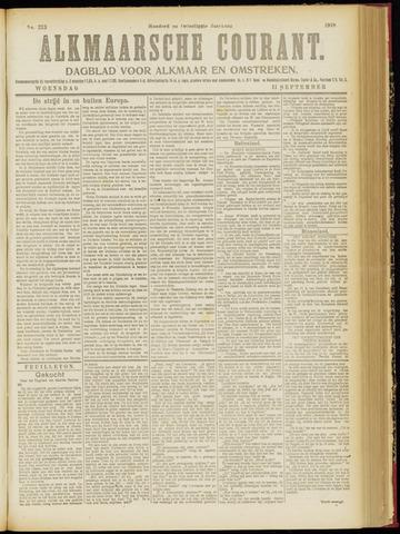 Alkmaarsche Courant 1918-09-11