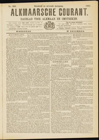 Alkmaarsche Courant 1905-12-27