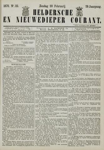 Heldersche en Nieuwedieper Courant 1870-02-20
