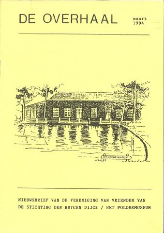 De Overhaal: historisch magazine Heerhugowaard 1994-03-01