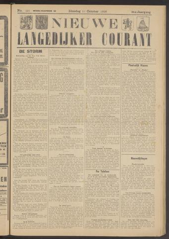 Nieuwe Langedijker Courant 1926-10-12