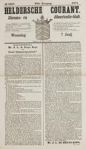Heldersche Courant 1871-06-07