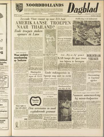 Noordhollands Dagblad : dagblad voor Alkmaar en omgeving 1962-05-14