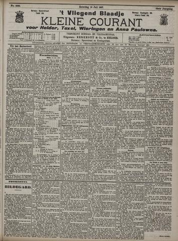 Vliegend blaadje : nieuws- en advertentiebode voor Den Helder 1907-07-13
