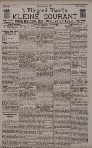 Vliegend blaadje : nieuws- en advertentiebode voor Den Helder 1895-04-20