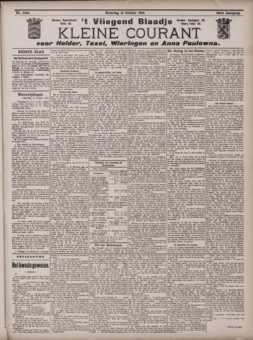Vliegend blaadje : nieuws- en advertentiebode voor Den Helder 1904-10-15
