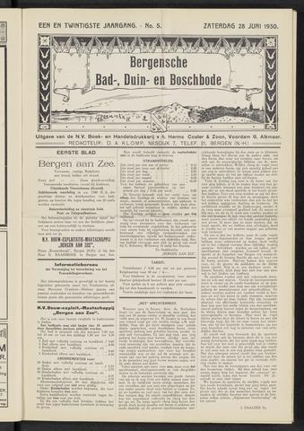 Bergensche bad-, duin- en boschbode 1930-06-28