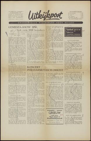 Uitkijkpost : nieuwsblad voor Heiloo e.o. 1956-09-28