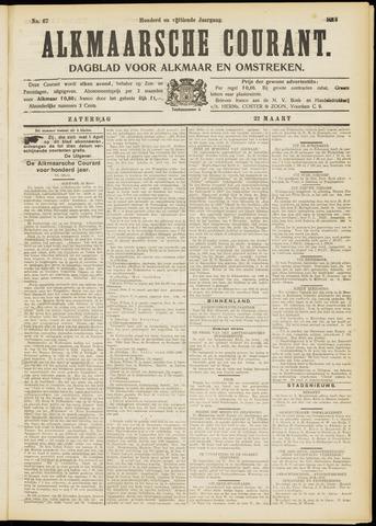 Alkmaarsche Courant 1913-03-22