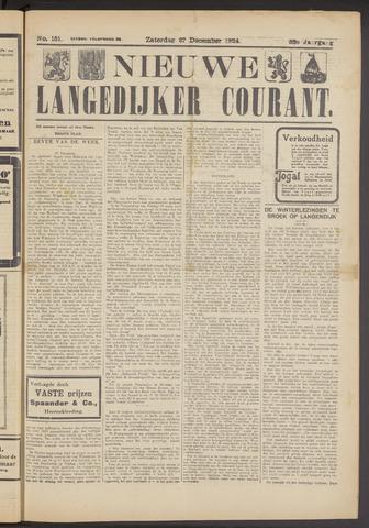 Nieuwe Langedijker Courant 1924-12-27
