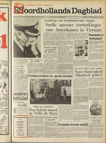 Noordhollands Dagblad : dagblad voor Alkmaar en omgeving 1967-12-13