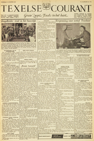 Texelsche Courant 1957-08-21