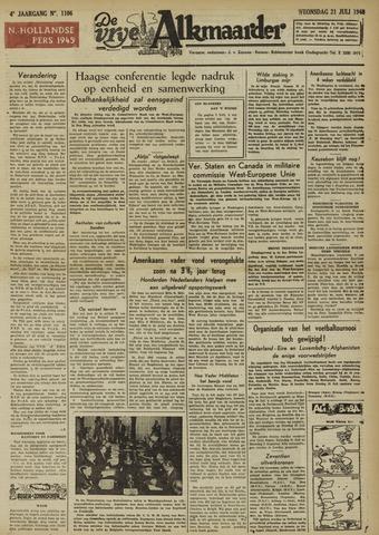 De Vrije Alkmaarder 1948-07-21