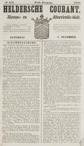 Heldersche Courant 1866-12-01