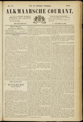 Alkmaarsche Courant 1882-02-01