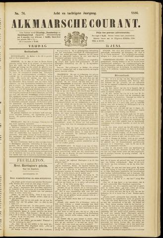 Alkmaarsche Courant 1886-06-25
