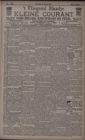 Vliegend blaadje : nieuws- en advertentiebode voor Den Helder 1894-01-17