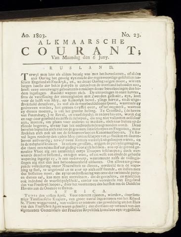 Alkmaarsche Courant 1803-06-06