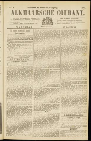 Alkmaarsche Courant 1905-01-18