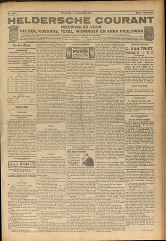 Heldersche Courant 1924-11-01