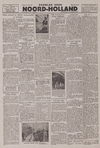 Dagblad Noord-Holland, Schager editie 1943-04-09