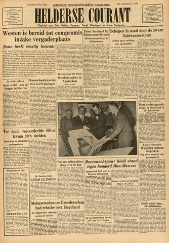 Heldersche Courant 1954-01-16