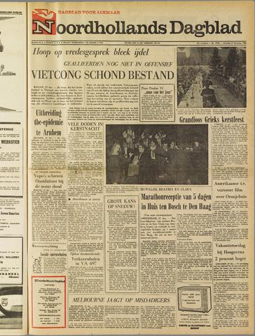 Noordhollands Dagblad : dagblad voor Alkmaar en omgeving 1965-12-27