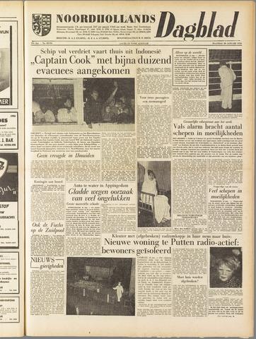 Noordhollands Dagblad : dagblad voor Alkmaar en omgeving 1958-01-20