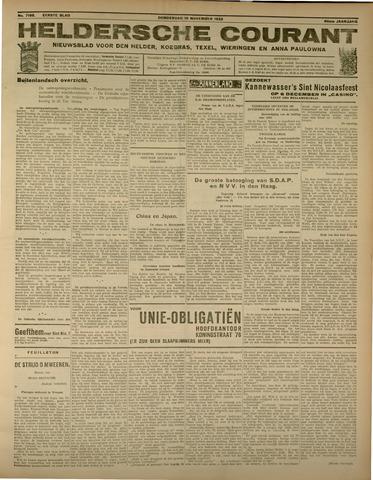 Heldersche Courant 1932-11-10