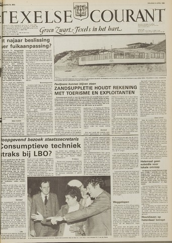 Texelsche Courant 1984-04-06