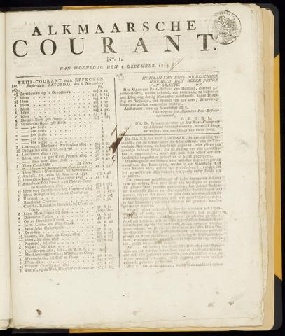 Alkmaarsche Courant 1813-12-01