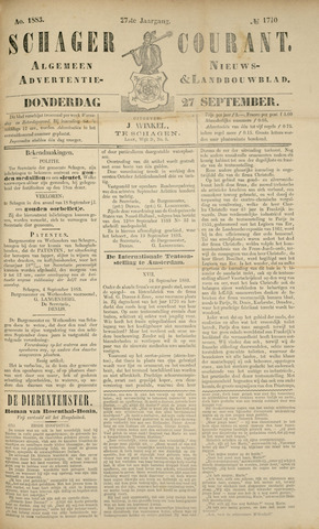 Schager Courant 1883-09-27