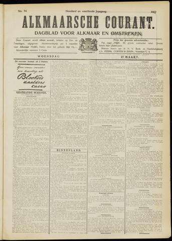 Alkmaarsche Courant 1912-03-27