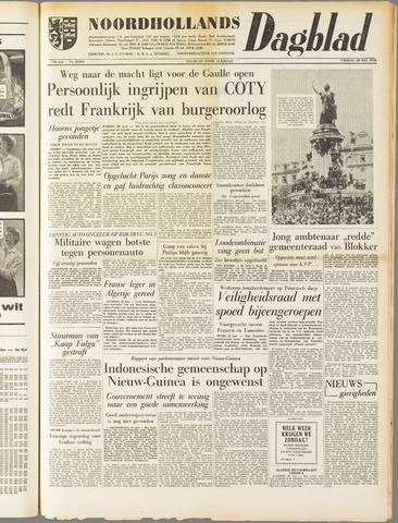 Noordhollands Dagblad : dagblad voor Alkmaar en omgeving 1958-05-30