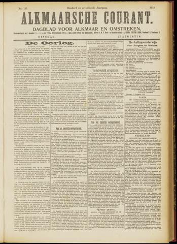 Alkmaarsche Courant 1915-08-17