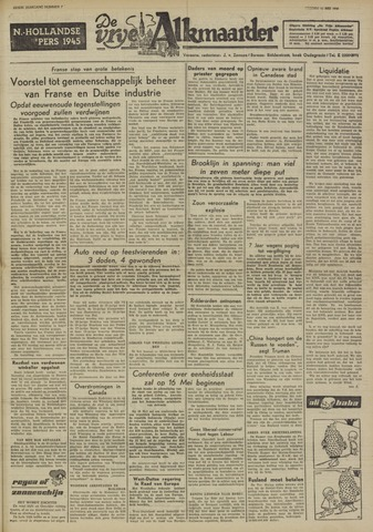 De Vrije Alkmaarder 1950-05-12