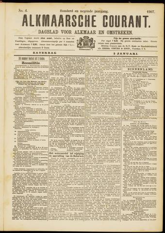 Alkmaarsche Courant 1907-01-05