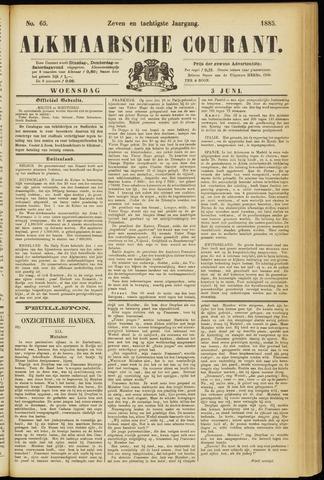 Alkmaarsche Courant 1885-06-03