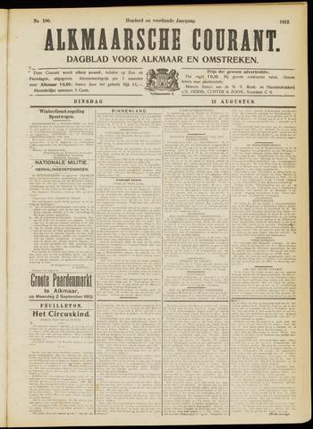 Alkmaarsche Courant 1912-08-13