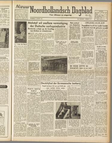 Nieuw Noordhollandsch Dagblad : voor Alkmaar en omgeving 1947-03-12