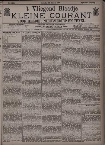 Vliegend blaadje : nieuws- en advertentiebode voor Den Helder 1887-10-22