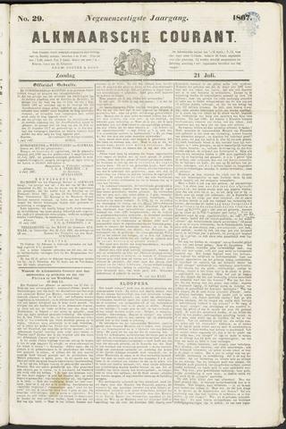 Alkmaarsche Courant 1867-07-21