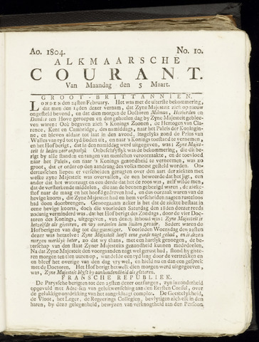 Alkmaarsche Courant 1804-03-05