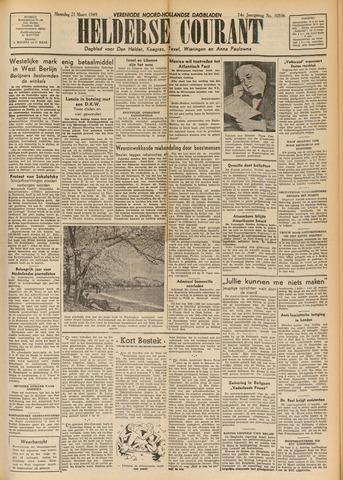 Heldersche Courant 1949-03-21