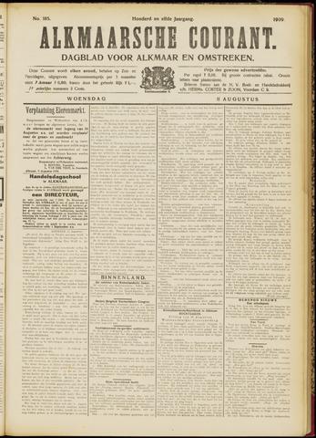 Alkmaarsche Courant 1909-08-11