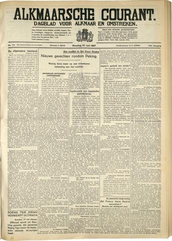 Alkmaarsche Courant 1937-07-27