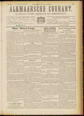 Alkmaarsche Courant 1915-12-04