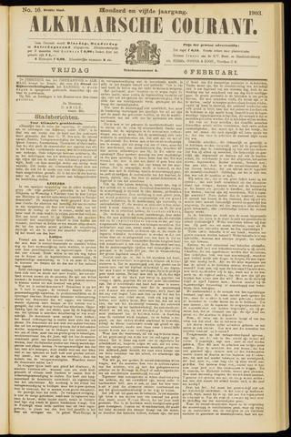 Alkmaarsche Courant 1903-02-06